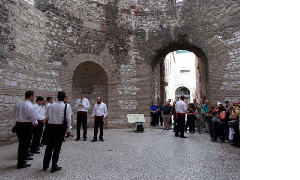Vestibil Dioklecijanove palate u Splitu