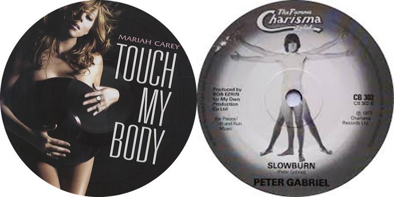 B Mariah Carey Peter Gabriel