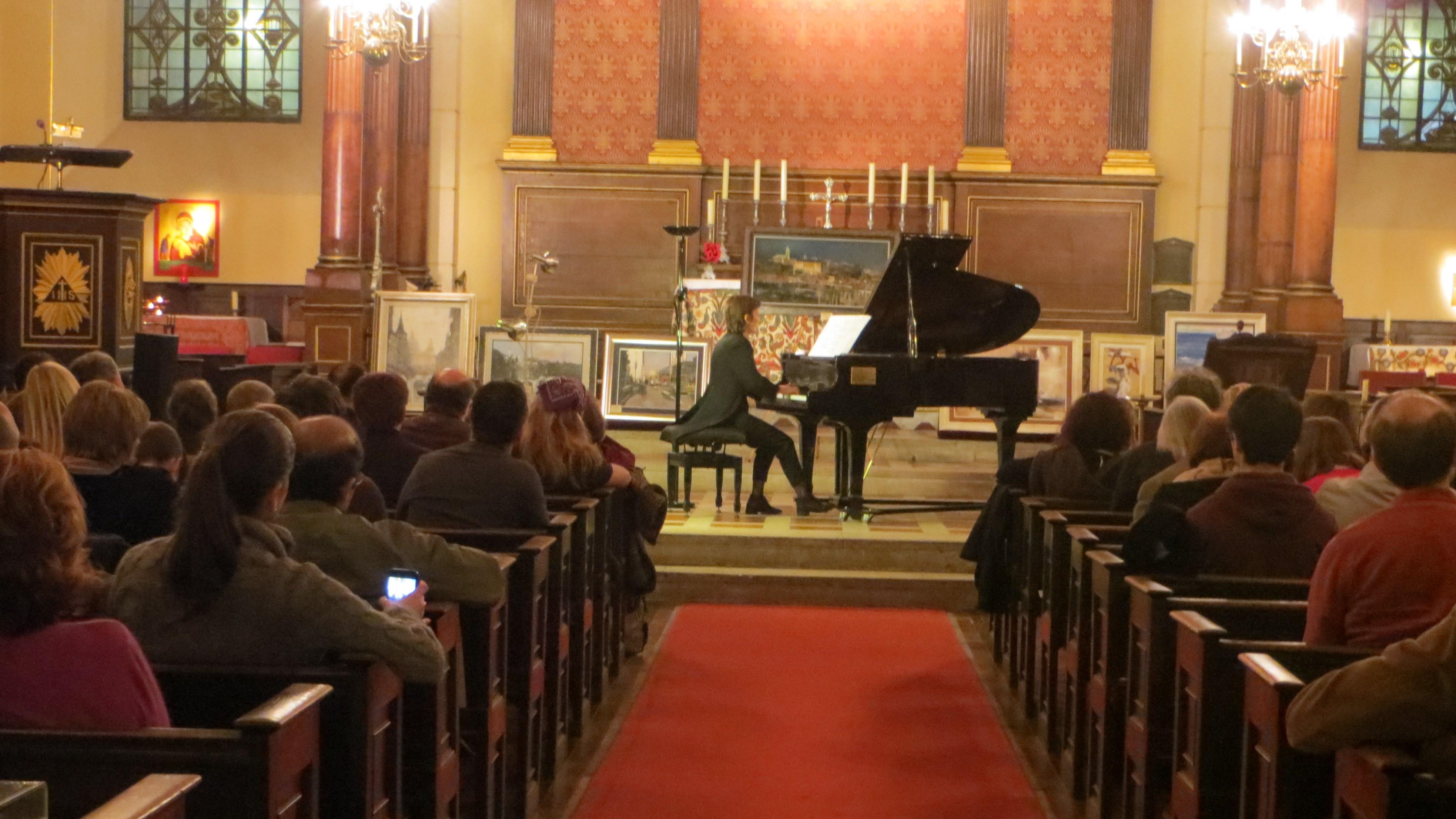 St Paul's concert Branka Parlic