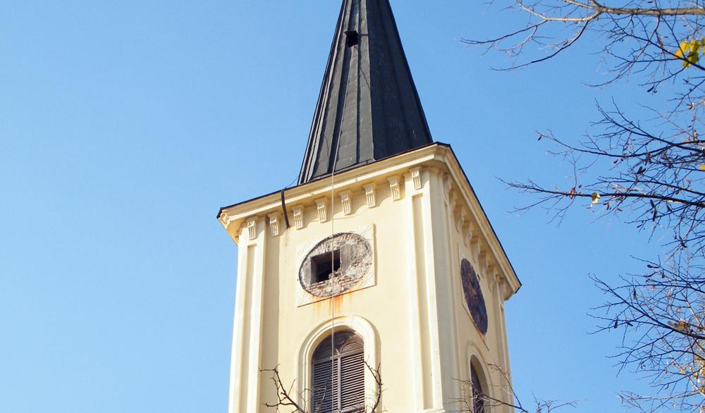 FOTO 2 Zvonik nakon skidanja brojcanika