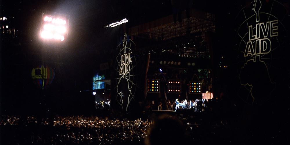 FOTO 4 Live Aid koncert na JFK stadionu