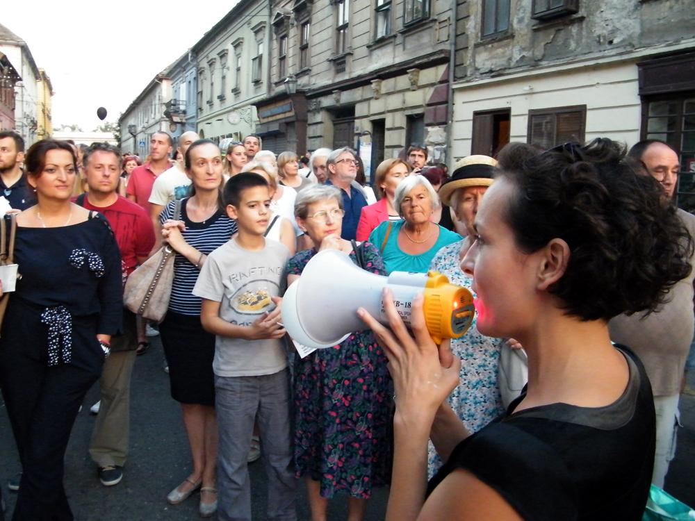 FOTO 2 Šetnju kroz Podgrađe je organizovala grupa Scenatoria