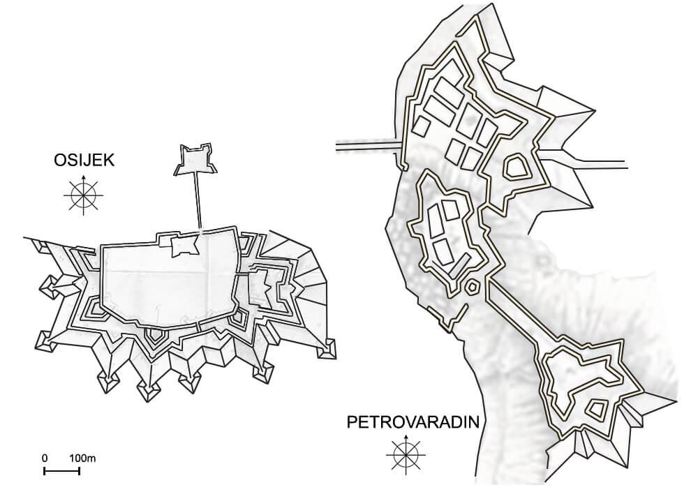 foto-3-osijek-1691-93-i-petrovaradin-1692-93-prema-projektima-ing-matije-von-kaiserfelda