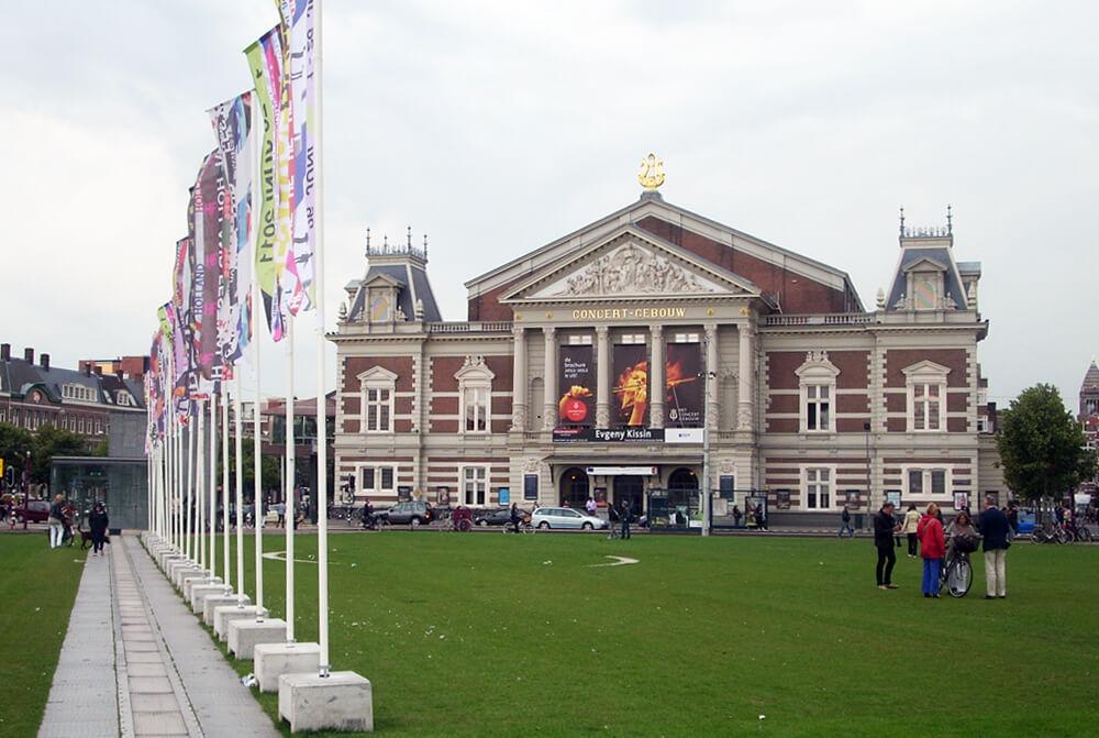 FOTO 1 Concert-Gebouw u Amsterdamu, deo tradicionalnog starog kulturnog distrikta u centru