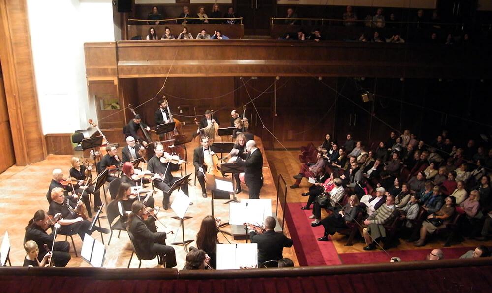 FOTO 1 Koncert Simfonijskog orkestra RTS u Kolarcevoj zaduzbini