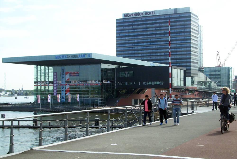 FOTO 3 Muziekgebouw aant Ij u Amsterdamu, deo novog kulturnog distrikta na vodi