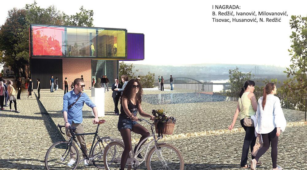 FOTO 3 Vizuelizacija prvonagradjenog konkursnog rada za Gradsku galeriju