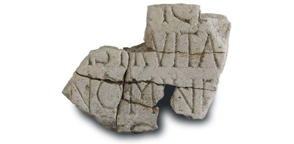 Fragment kamene plastike