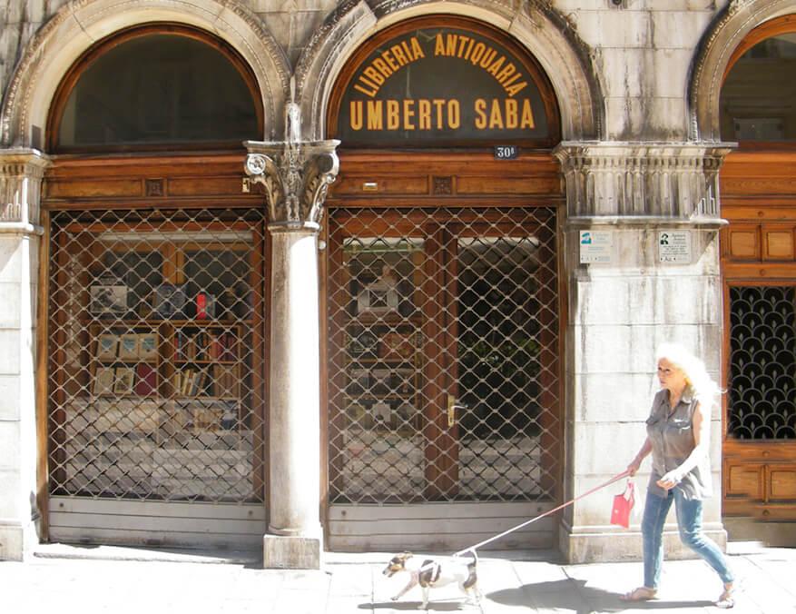 FOTO 4 Knjžara i antikvarnica koju je osnovao Umberto Saba