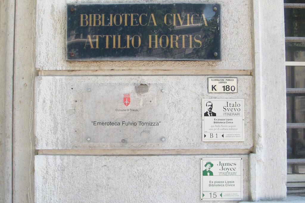 FOTO 8 Gradska biblioteka Attilio Hortis i Biblioteka novina (Emeroteka) Fulvio Tomizza