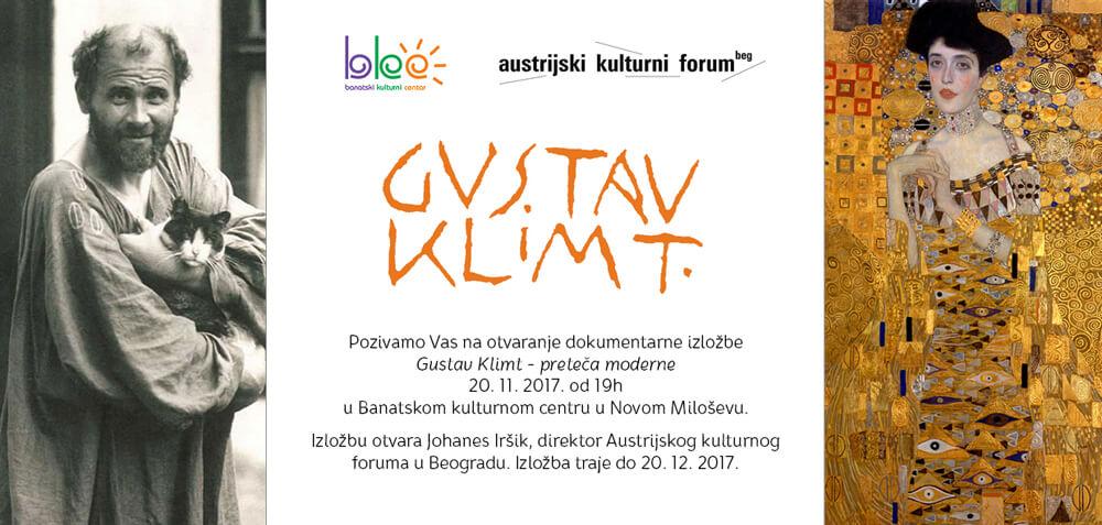 Gustav Klimt pozivnica
